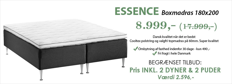 trekvart seng tilbud